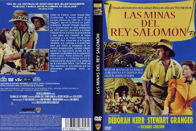 Cover, dvd, carátula: Las minas del rey Salomón | 1950 | King Solomon's Mines