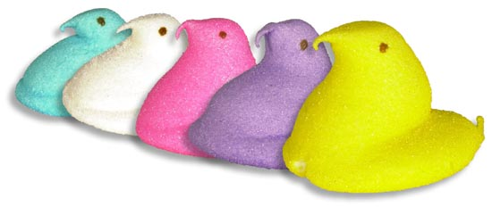 Ryans Village Candy Blog: Marshmallow Easter Peeps