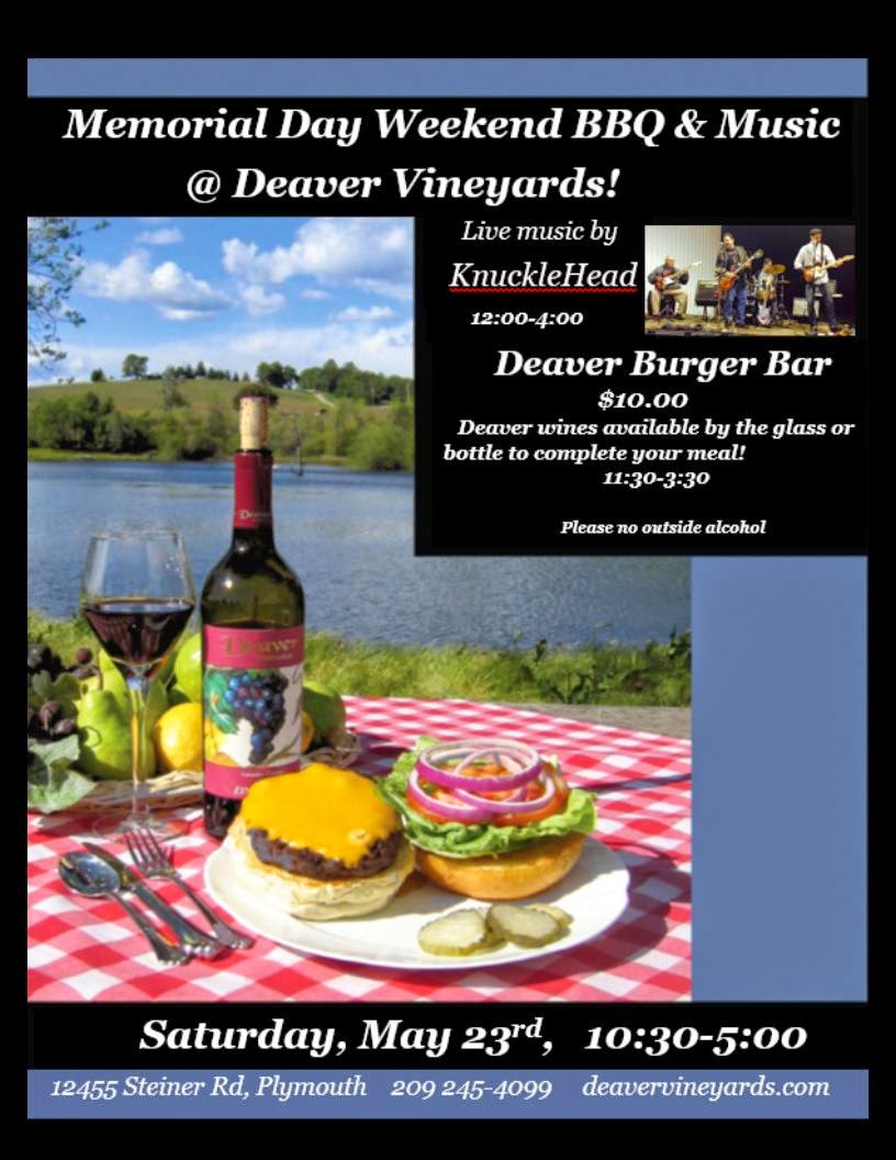 Deaver Memorial Day BBQ - Sat May 23