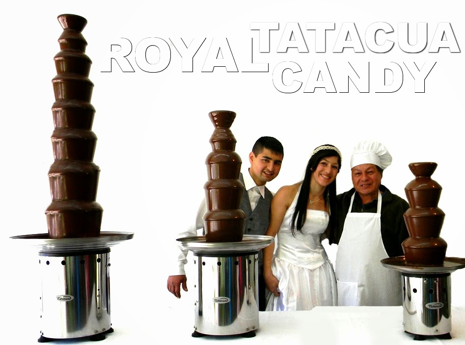 Tres modelos profesionales Fuentes de Chocolate