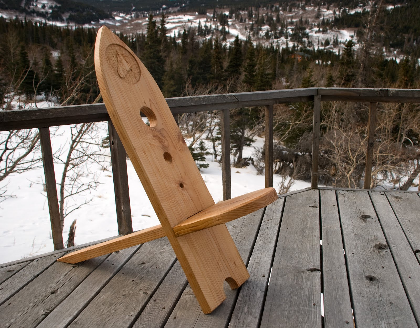 A journey against the grain the bog chair for Viking chair design