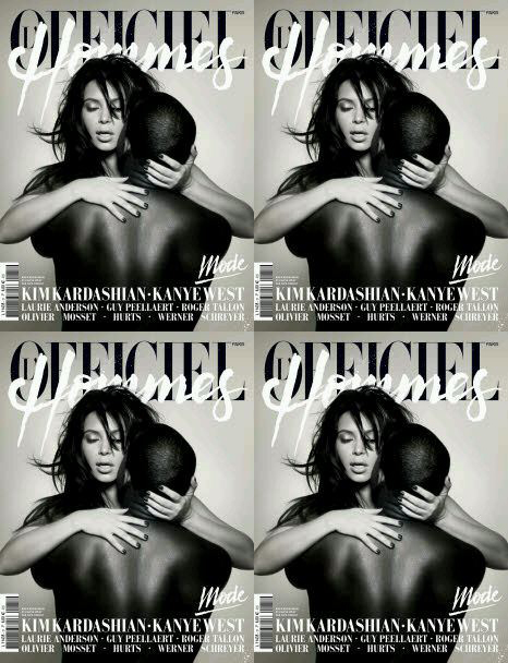 L'Officiel Hommes Magazine Cover