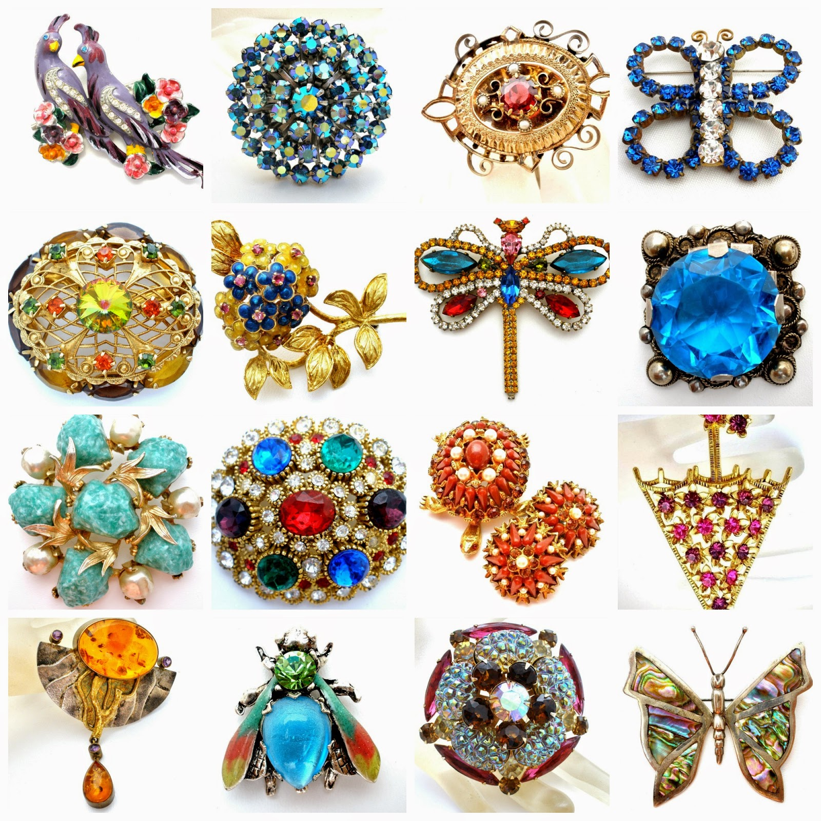 the jewelry lady 39 s store vintage and antique brooches