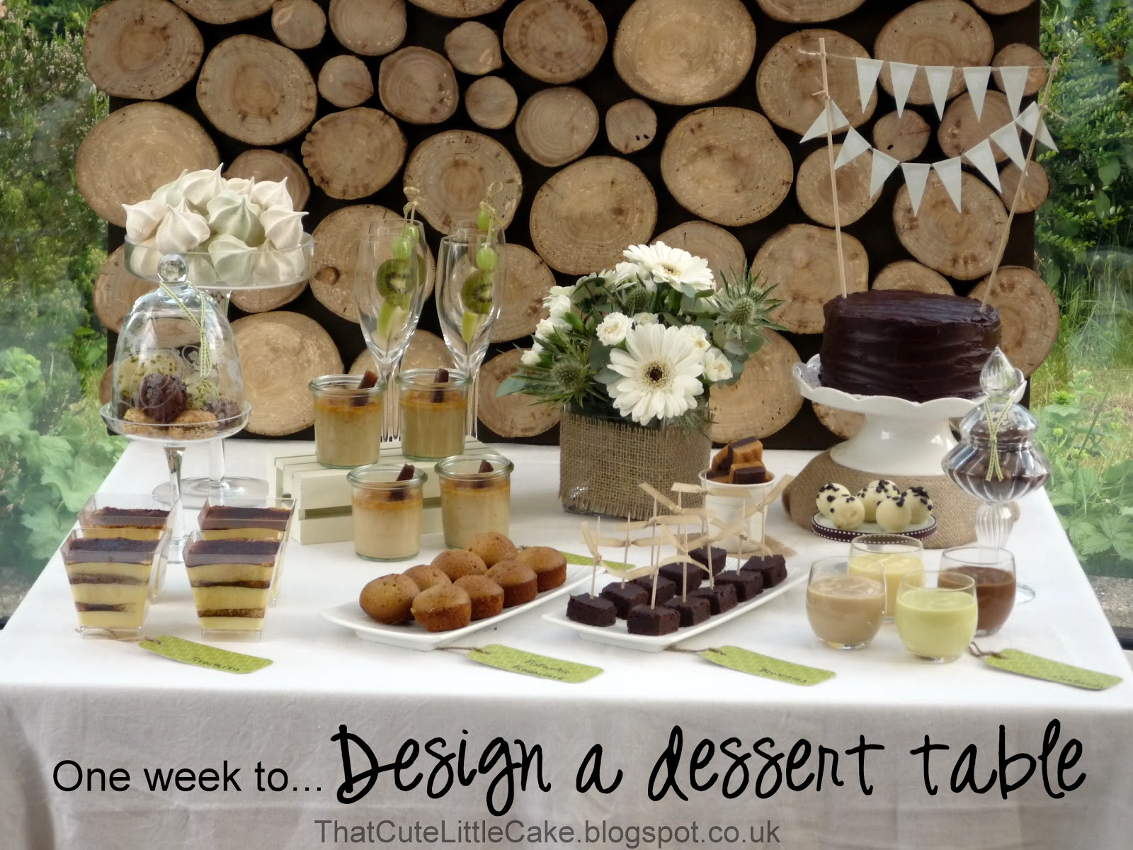 That Cute Little Cake e week to Design a dessert
