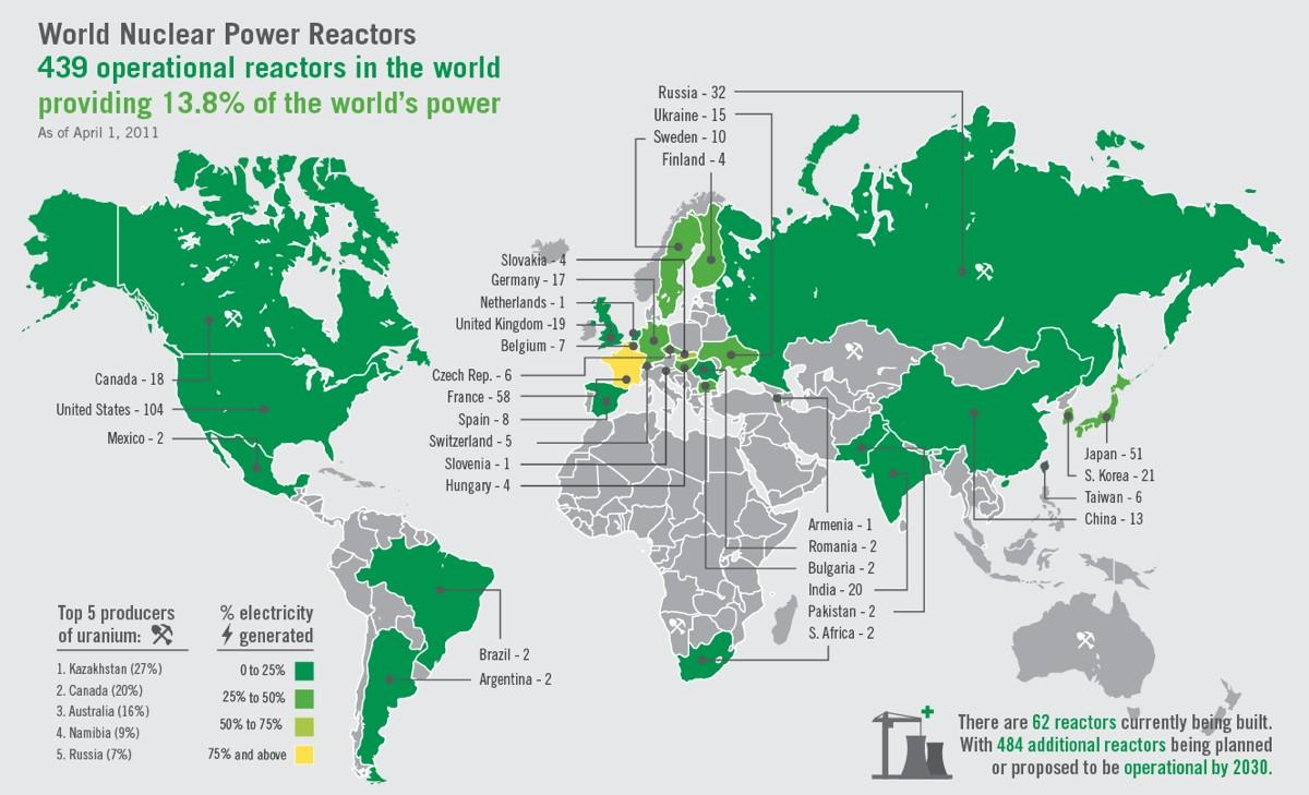 El Planeta Azul Plantas nucleares en zonas de riesgo sísmico