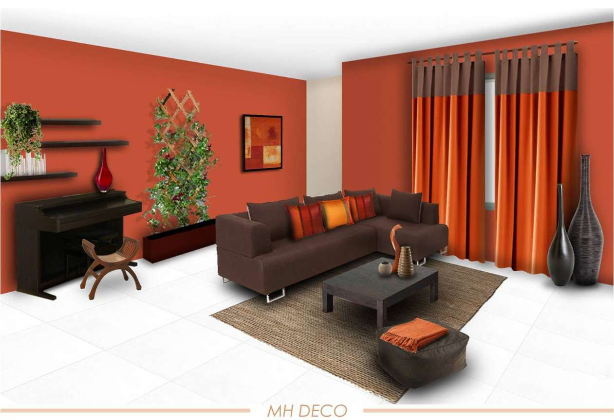 Furniture And Color Scheme For Living Room Vintage Home