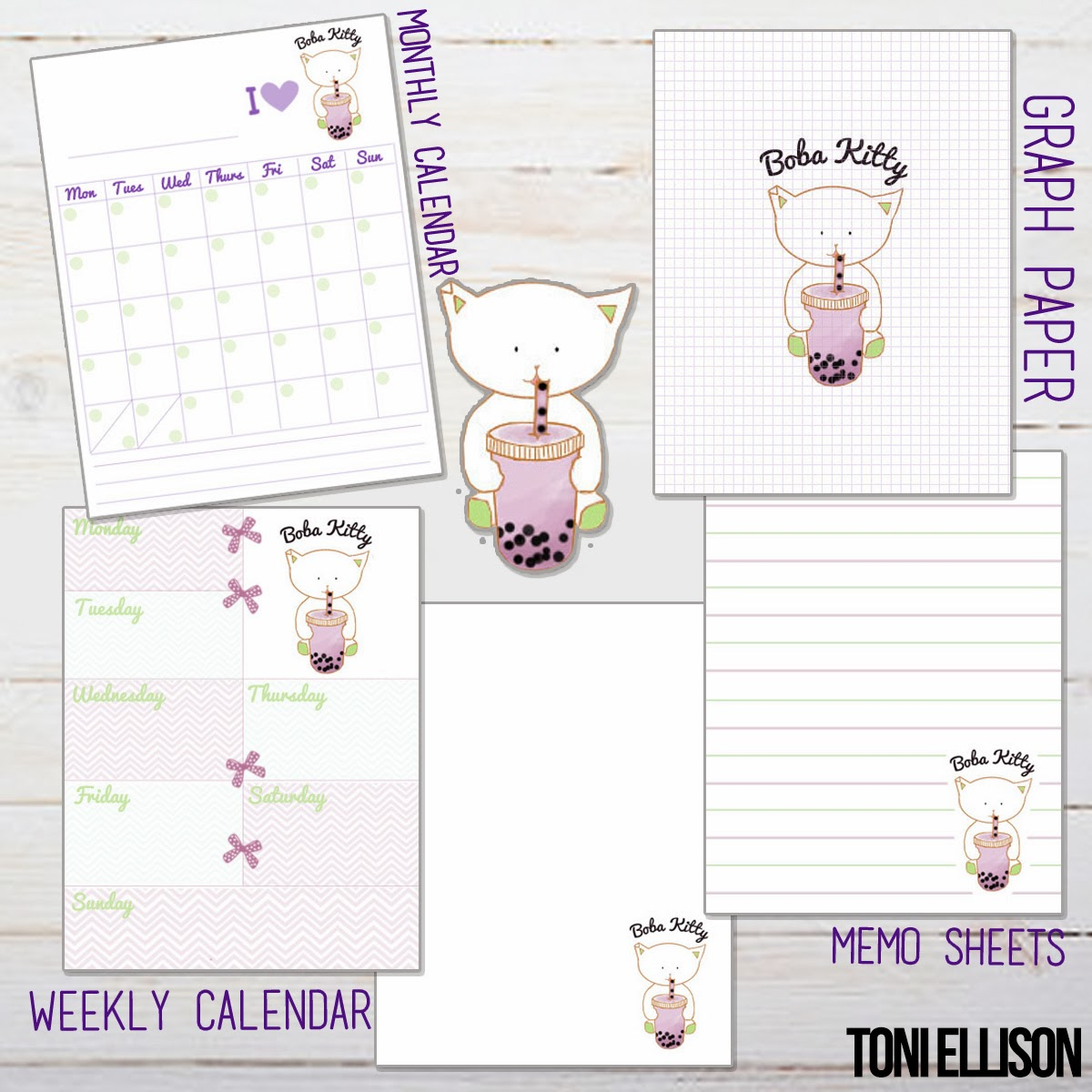 Agenda   Planner   Stationery DIY   How To Make Your Own Agenda   Toni  Ellison  Make An Agenda