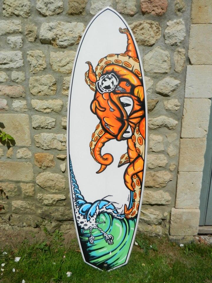 Maz boards septembre 2012 for Deco planche de surf