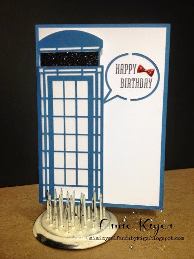 Mimi Myself And I A Doctor Who Birthday Card With The Artfully