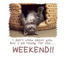 No sé tú,pero estoy lista para... el fin de semana!!
