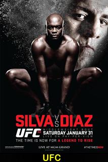 Assistir Luta UFC 183: Silva vs. Diaz Online – Combate