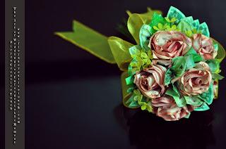 Hantaran Perkahwinan Kahwinmall Bunga Pahar Kristal Bunga