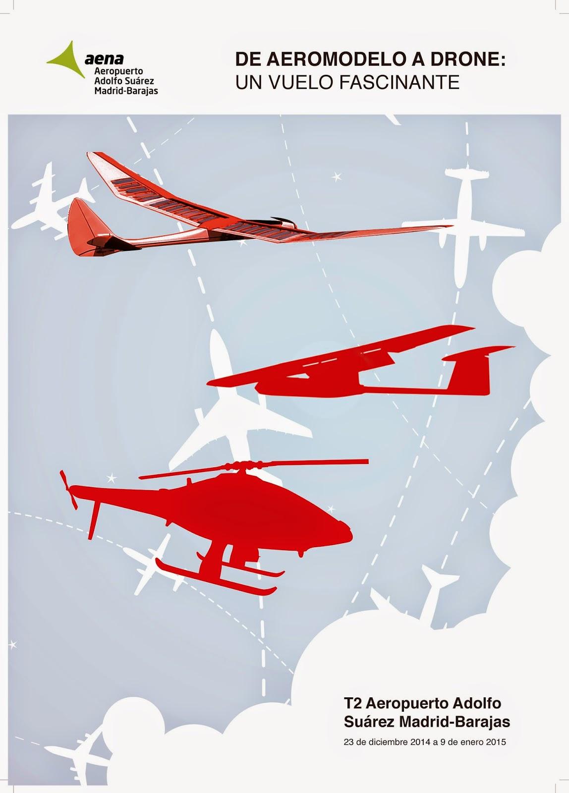 """Exposicion """"de aeromodelo a drone"""""""