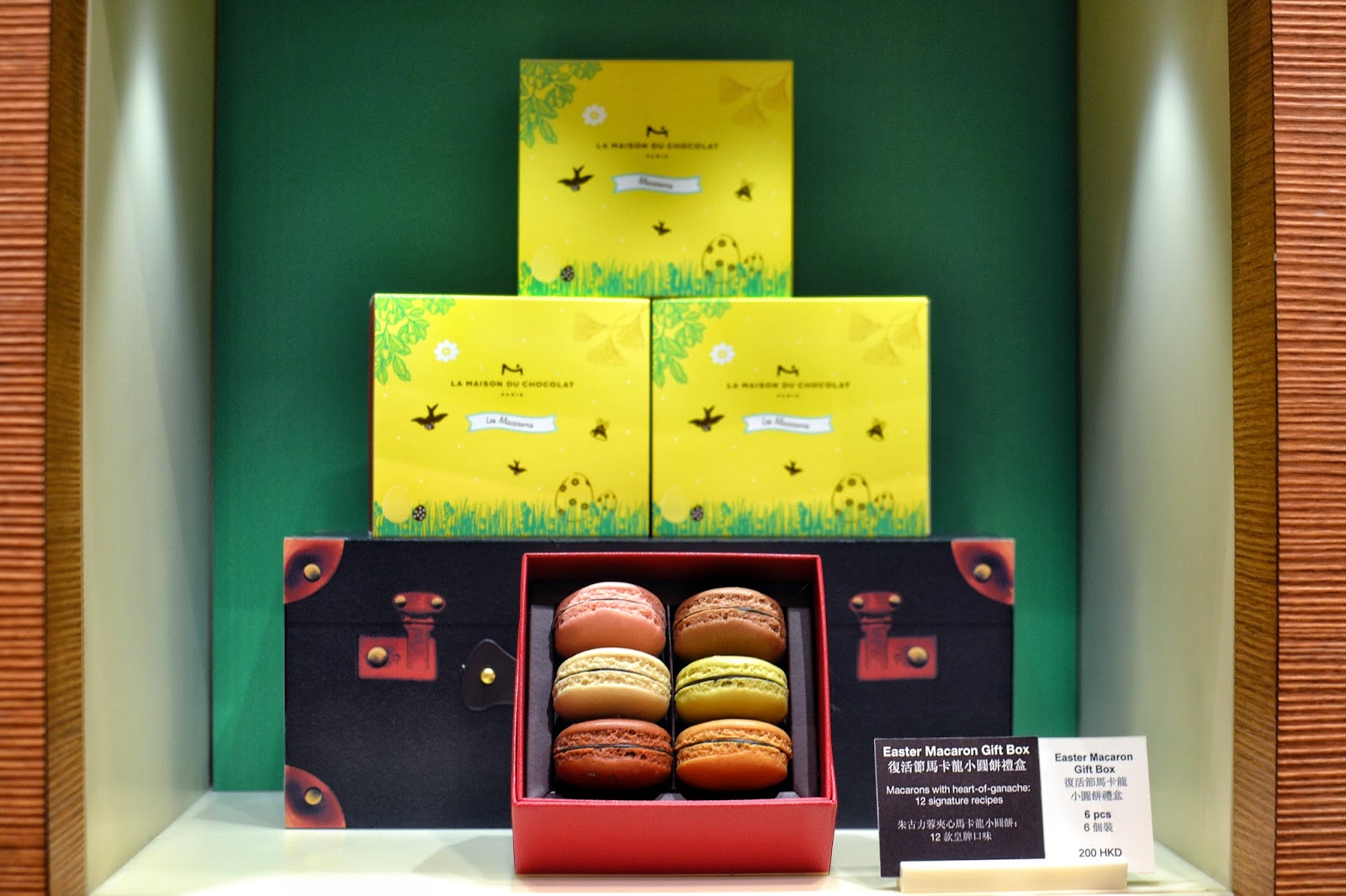 La maison du chocolat easter collection 2015 hong kong hungry easter macaron gift box negle Image collections