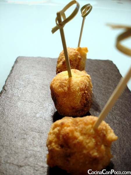 PCroquetitas de gambas - Receta paso a paso - Sin Gluten
