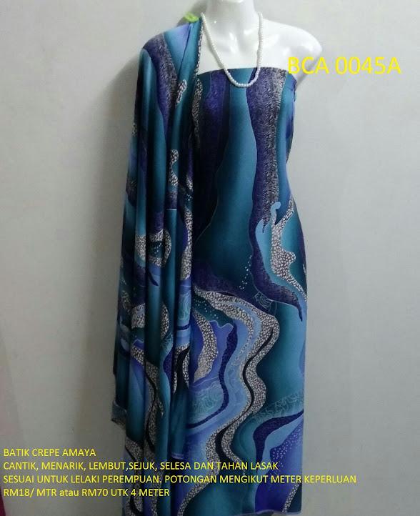 BCA 0045A: BATIK CREPE AMAYA, OPEN METER, RM18/MTR