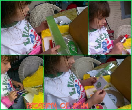 monster box activities collage