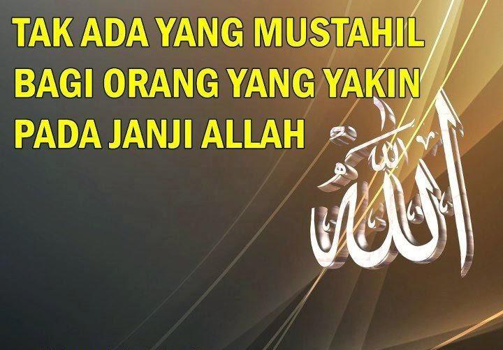 Janji ALLAH benar