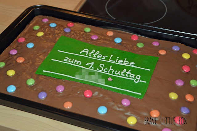 Tafelkuchen mit Smarties