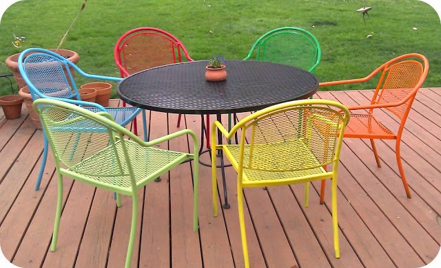 Outdoor Patio Furniture Sets colorful