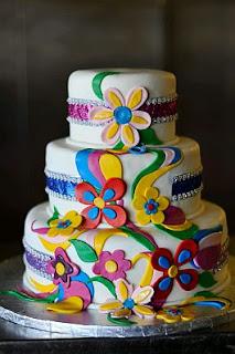 Tortas de Boda Multicolor, parte 3