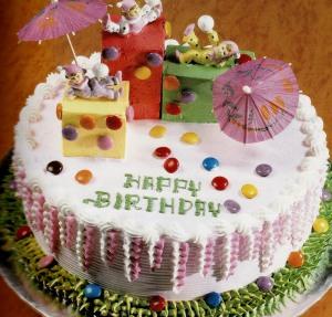 anda pasti tahu kue tart saat ulang tahun biasanya kue tart diberi ...