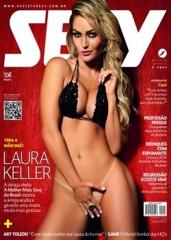 Sexy Laura Keller Dezembro de 2013 + Making Off