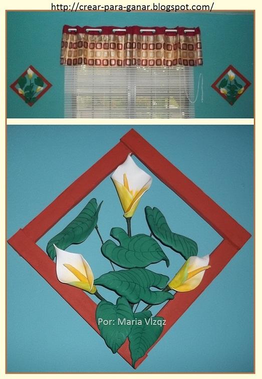 Decoracion Baño Goma Eva:Decoracion con flor lotus para el baño