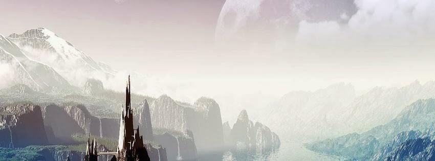 Photo de couverture pour facebook paysage fantastique
