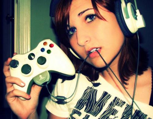hot girl gamer