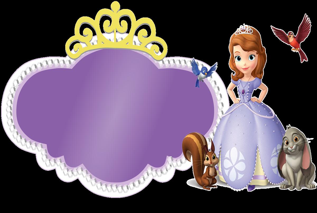 Molduras Para Fotos Princesa Sofia Toda Atual