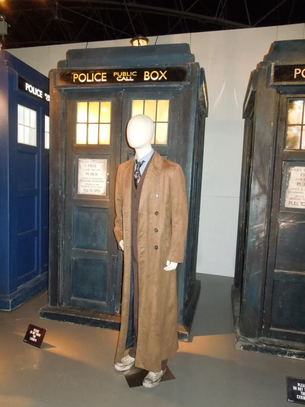 Doctor Who David Tennant Day of the Doctor costume TARDIS