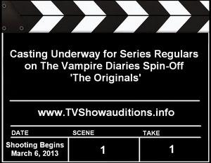 The Vampire Diaries The Originals Auditions