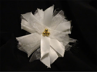 ribbon strip flower