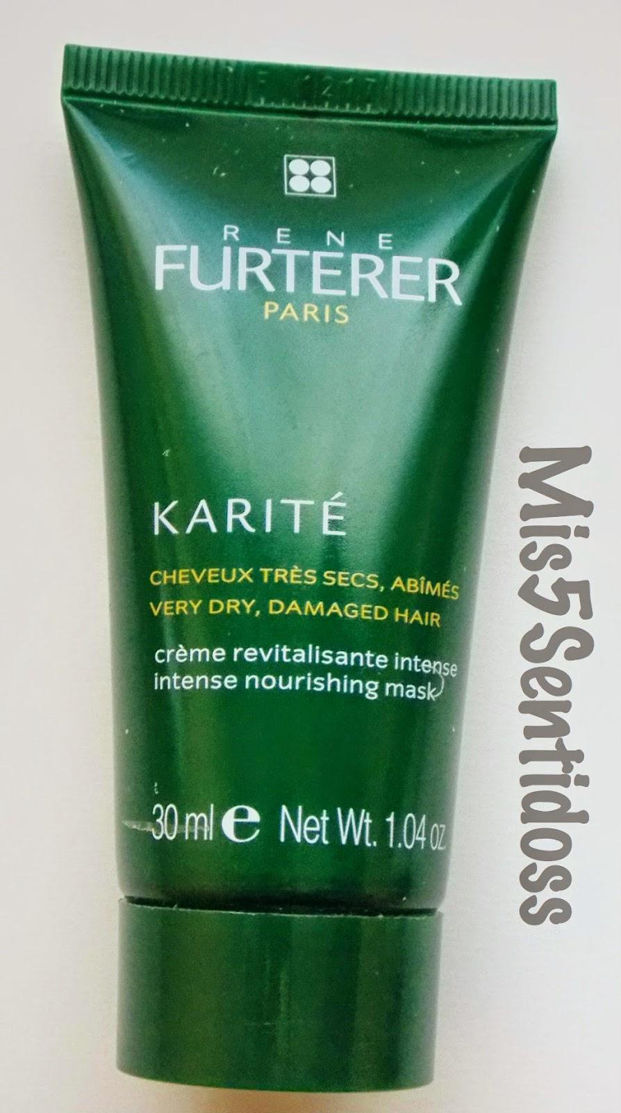 Rene Furterer Mascarilla revitalizante de Karité