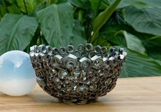 Ideas para Reciclar Tuercas, Accesorios y Objetos Ecoresponsables