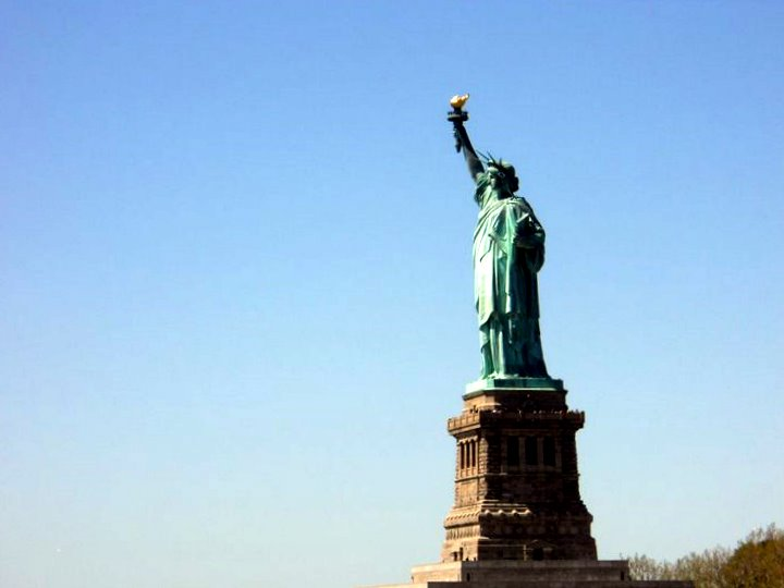 Statue of Liberty France Location