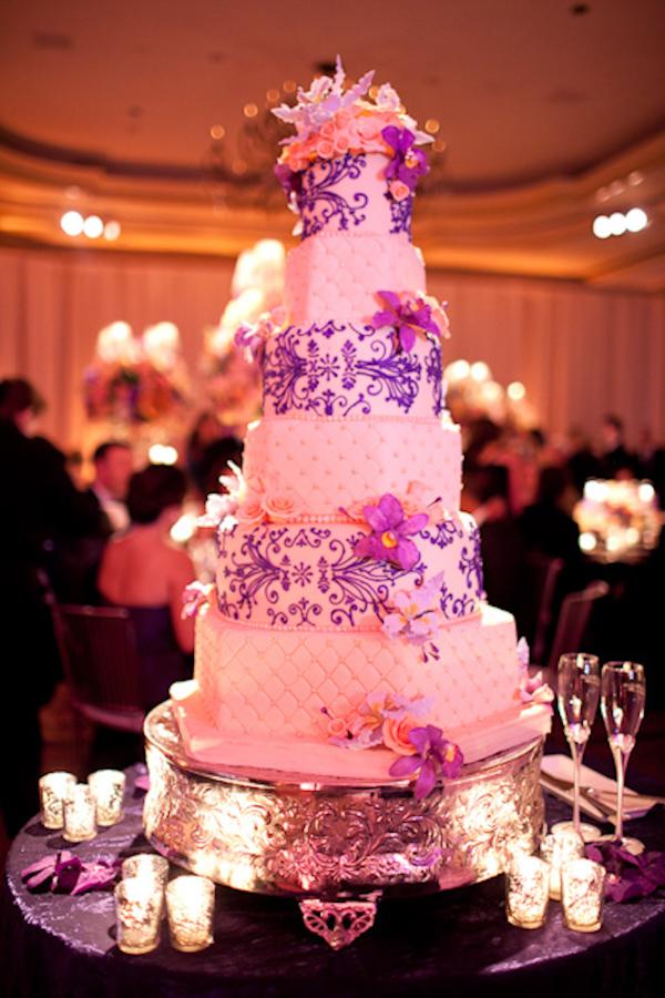 Ideias para casamento e festa Decoração casamento lilás e amarelo