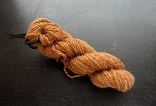 Cinnamon brown vicuña cloud laceweight fingering yarn how to spin