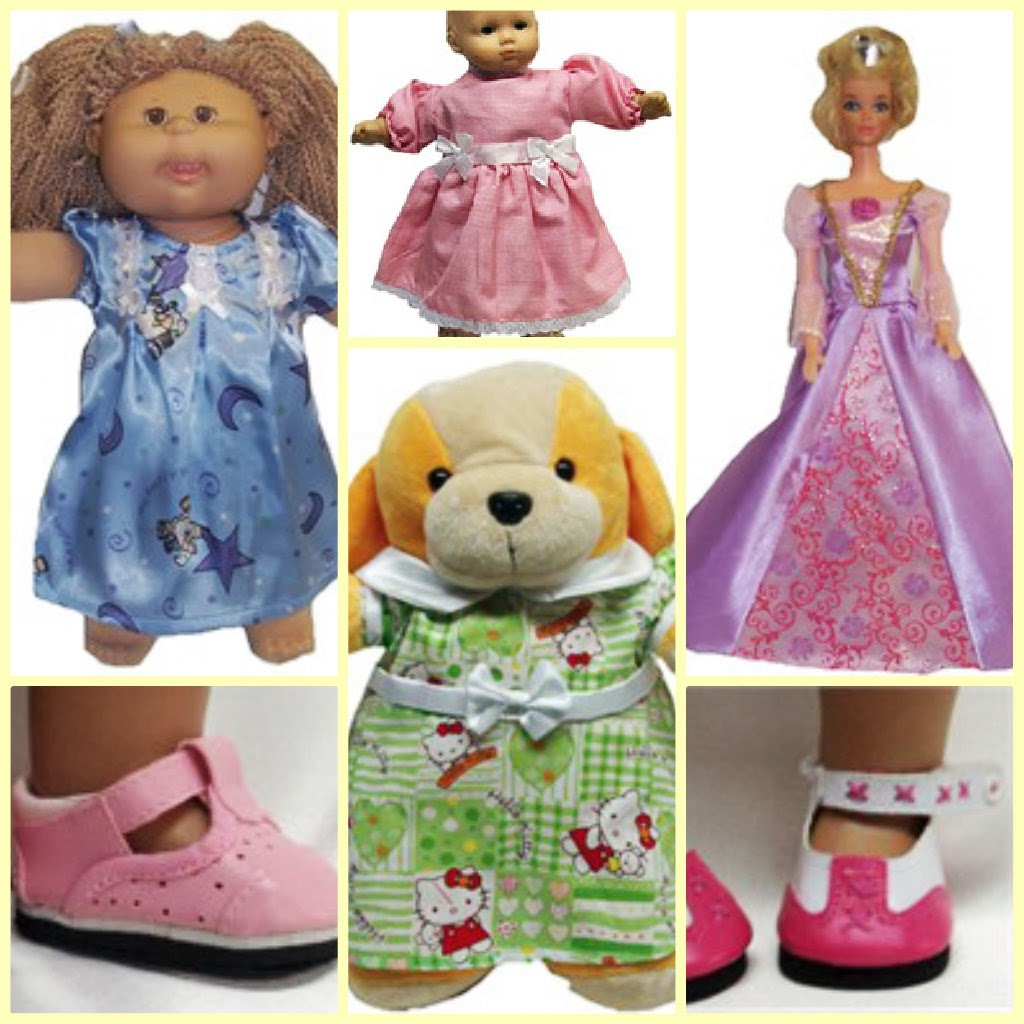 doll clothes superstore collage