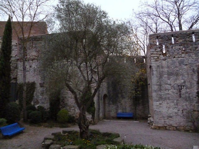 Jardines de las murallas. Girona