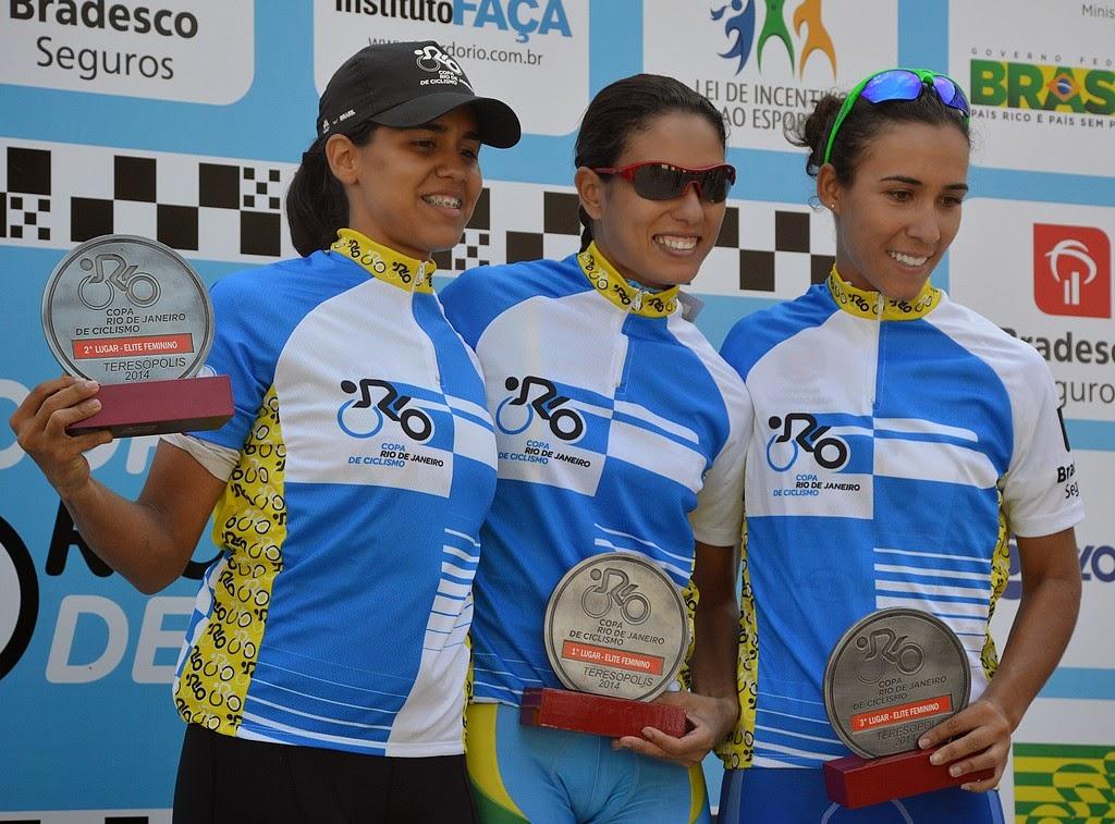 Ciclista profissional, a paulista Camila Coelho tirou em primeiro lugar na categoria Elite