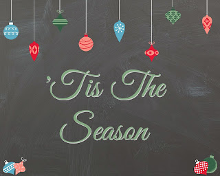 Tis The Season Free Printable from SoHeresMyLife.com