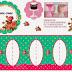 Shabby Chic con Rosas: Mini Stand para Cupcakes, para Imprimir Gratis.