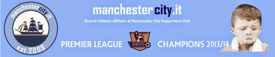 ManchesterCity.it | Il club italiano dei blues di Manchester
