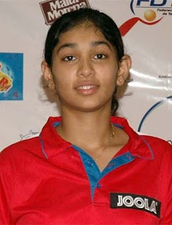 Promising Table Tennis Player Neha Aggarwal