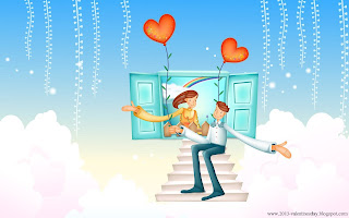 Cute Cartoon Love HD wallpapers 2013