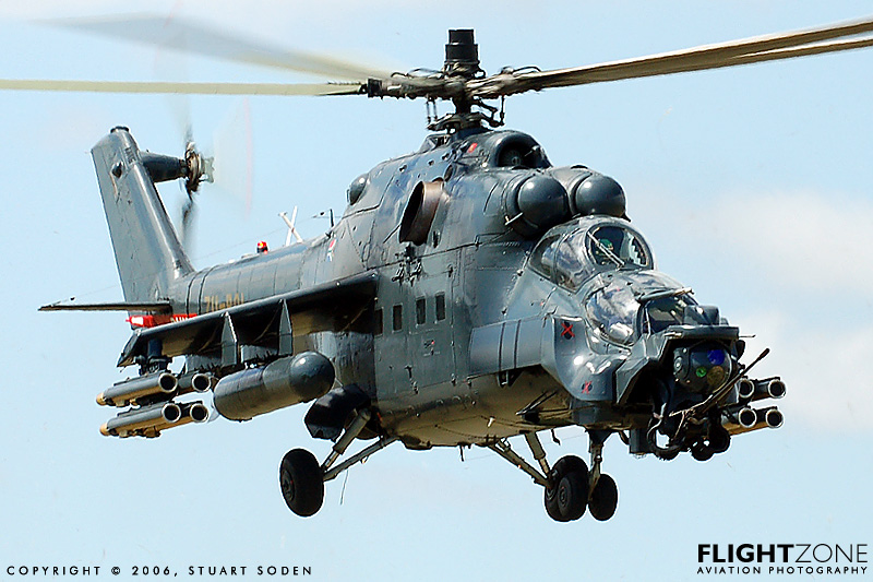"Gambar 7 . Canard pada helicopter ""Mil Mi-24 Super Hind Mk III""."