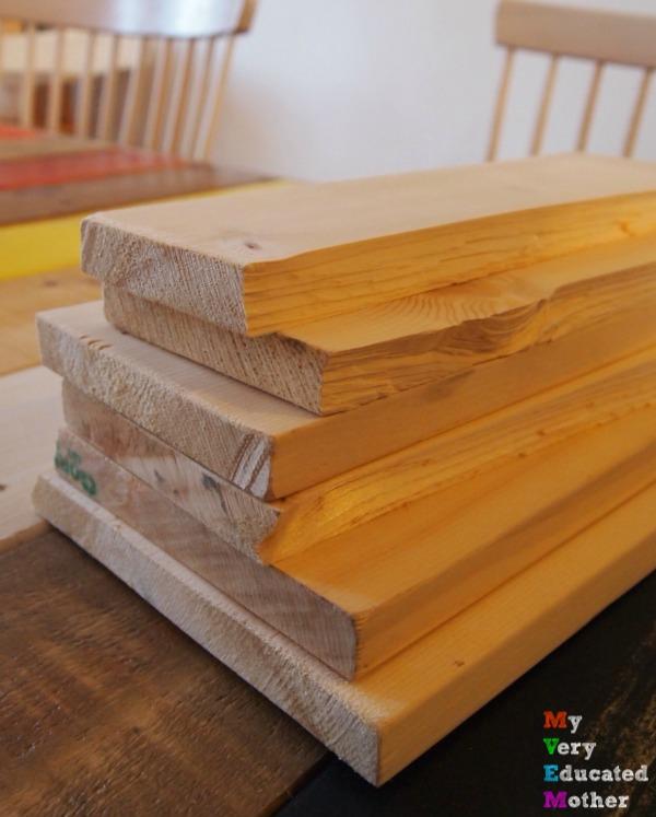 A DIY Project using Broken Karate Boards
