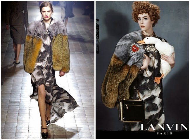 (Lanvin Fall 2013 Paris / Lanvin Fall 2013 Ad Campaign)